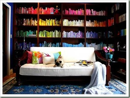 color-bookshelf- Brooklyn Limestone