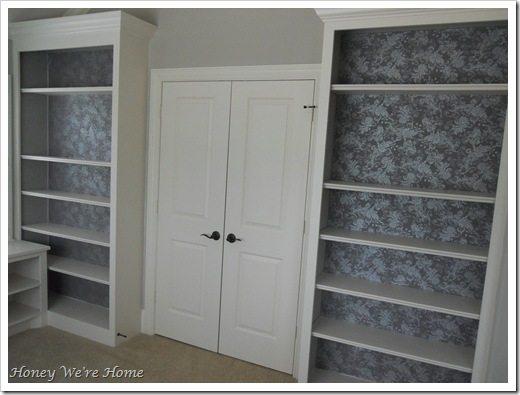 Fabric Bookcase finish 006