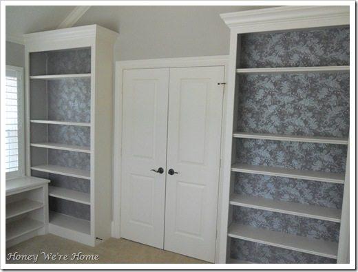 Fabric Bookcase finish 007