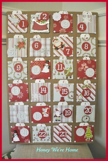 Kids Craft Advent Calendar : Christmas craft advent calendar honey we re home