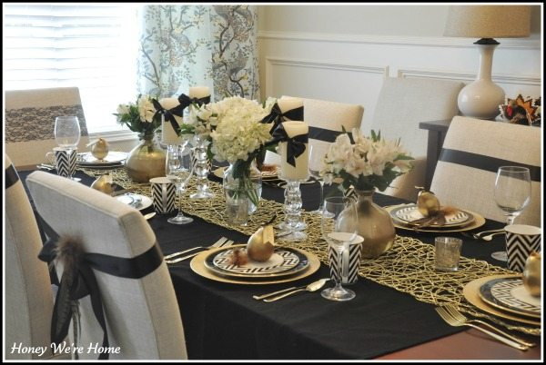 Our Thanksgiving Table 2011 Honey We Re Home