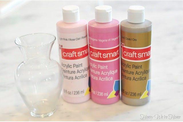 Diy Paint Swirl Vases Honey Were Home