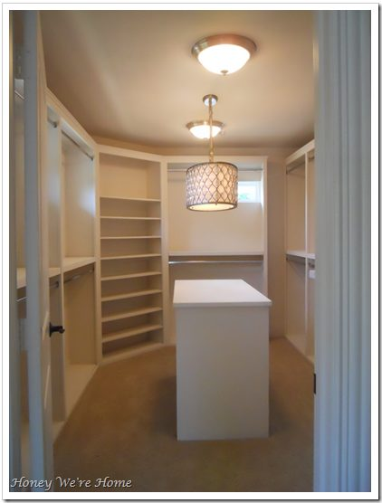 Right Before Moving In, The Closet Looked Like The Picture Below. Itu0027s All  Painted Sherwin Williams Divine White (flat).