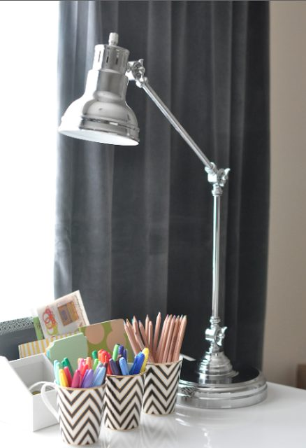 Office Accessories Amp New Chrome Lamp Honey We Re Home