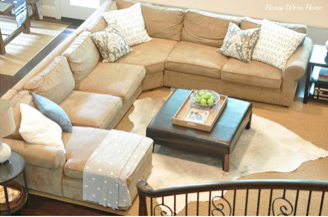 Our Living Room Sectional (Pottery Barn Pearce) - A Review | Honey ...