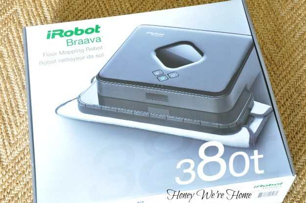 when our irobot braava 380t floor mopping robot arrived in the mail my 3yearold son was as excited as i was to open it up and use it - Irobot Braava 380t