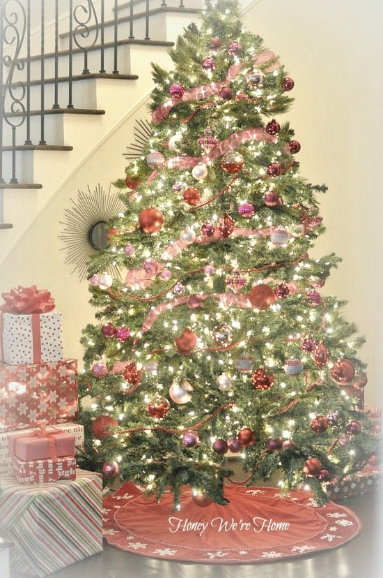 show you our girly christmas tree and to see yours you can link up your trees here with me and courtney a thoughtful place and well be featuring - Show Me Christmas Decorations