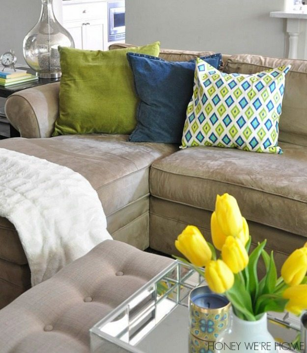 Beautiful And Festive Home Decor Is Giving Away $100 Worth Of Pillows To One Reader!  Enter To Win Below. The Winner Will Be Announced On May 8, 2014.