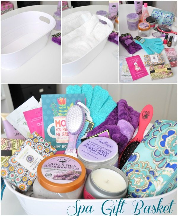 Mothers day gift idea spa basket honey were home i think its much better to choose the items yourself as opposed to buying a pre made set it seems like those sets inevitably contain unnecessary items and solutioingenieria Gallery