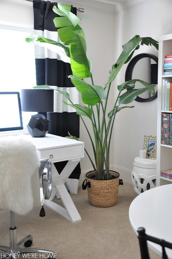 Black And White Home Office Honey We Re Home