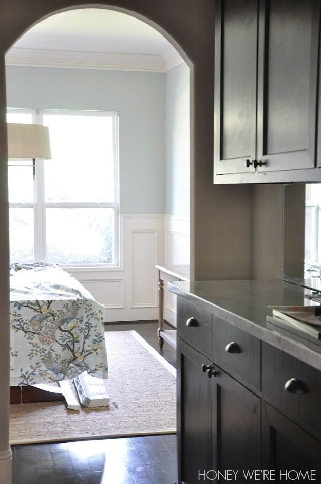 New Dining Room Paint Sherwin Williams Comfort Grey