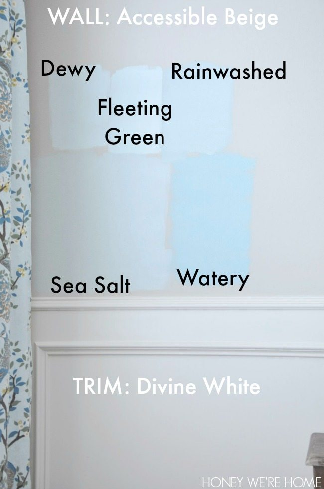 Sherwin Williams Sea Salt Rainwashed Watery