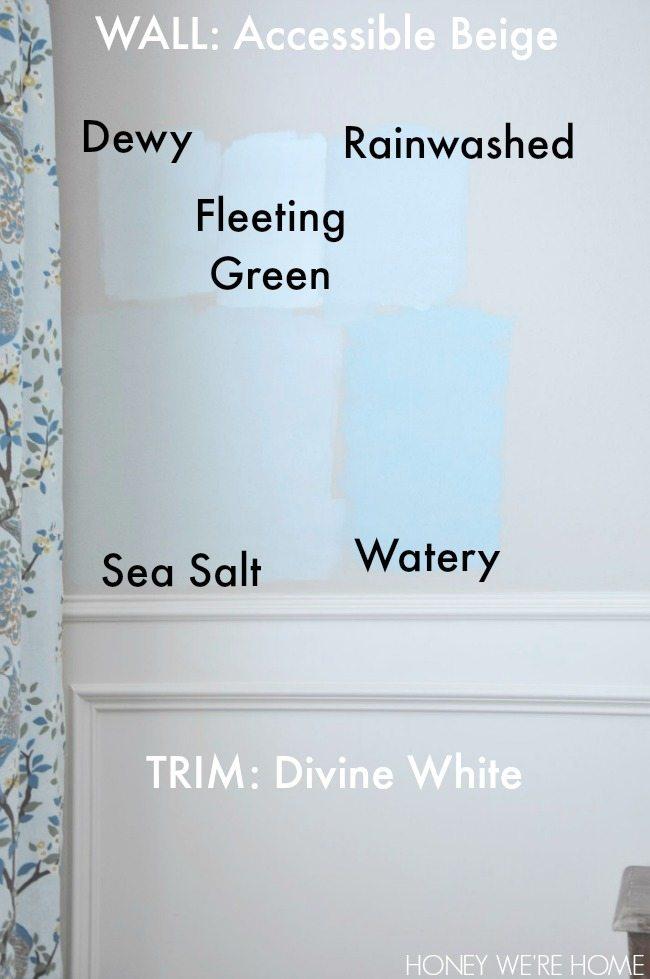 Sea Salt Kitchen Walls