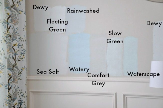 Choosing Paint For The Dining Room Sherwin Williams Sea Salt Honey We
