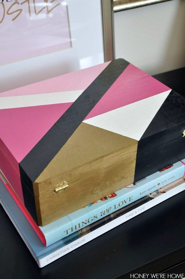 Painted Wooden Boxes Honey We're Home Stunning How To Decorate Wooden Boxes