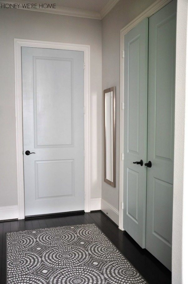 But I Really Like The Pale Shade Of Fleeting Green On The Inner Door.