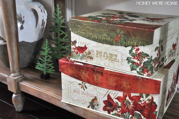 Snowflake christmas decor honey we 39 re home for Christmas decorations home goods