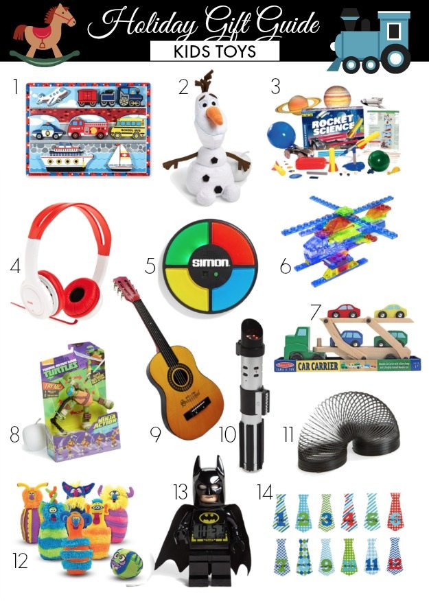 Toys We Got For The Holidays : Holiday gift guide kids toys honey we re home