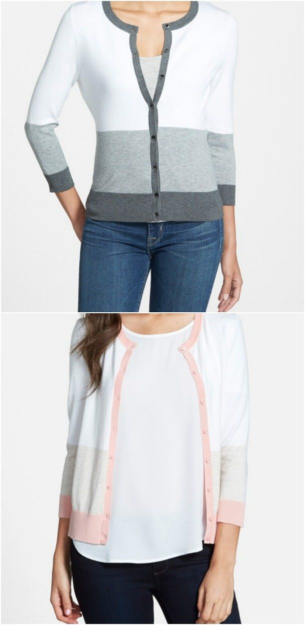 Weekend Steals & Deals | 3/4 sleeve cardigan