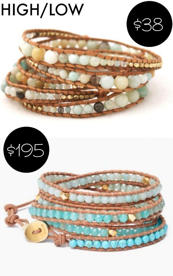 Spring - Summer style - wrap bracelets