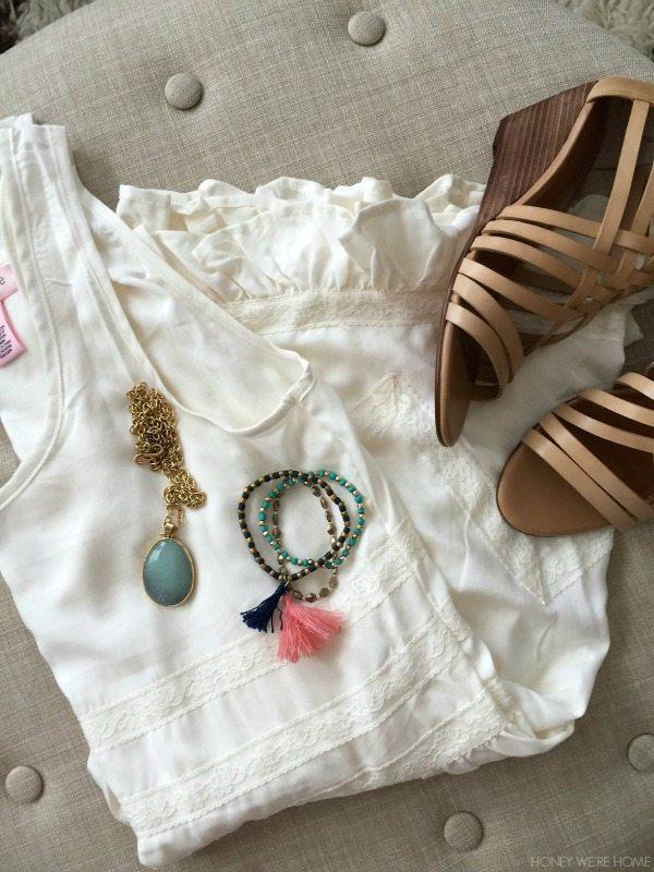 Summer Uniform - Zoe & Rose Crochet Tank Dress
