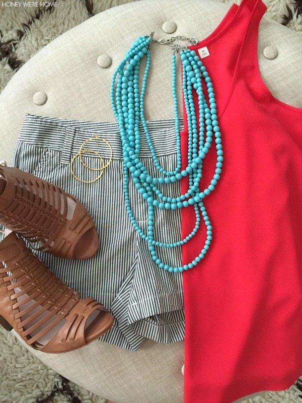 Weekend Steals & Deals   Summer Fashion Outfits - Beaded Necklace