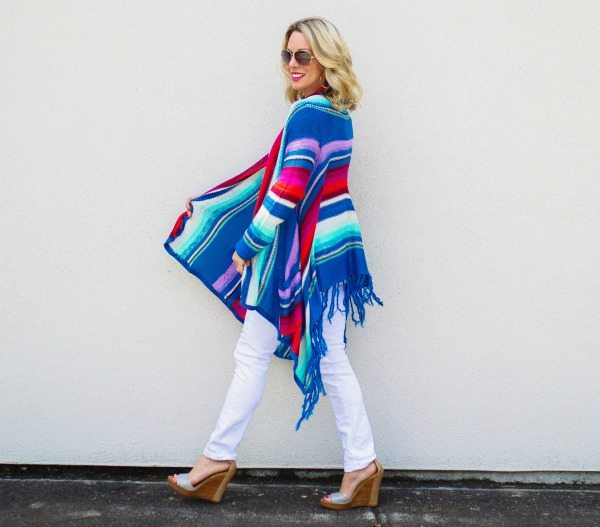Weekend Steals & Deals | Summer Fashion | Rainbow Cardigan