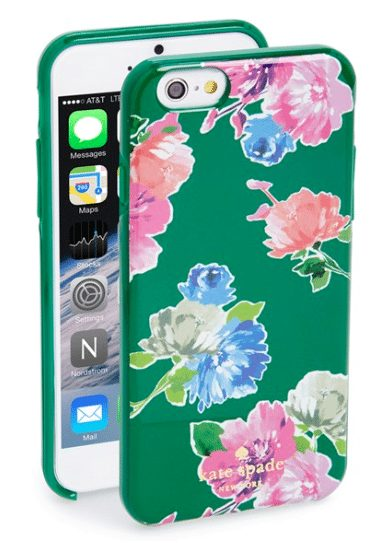 Kate Spade Spring Bloom iPhone case on sale