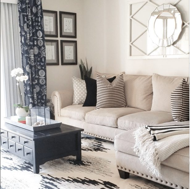 20 Beautifully Decorated Real Life Living Rooms - Made 2 Make