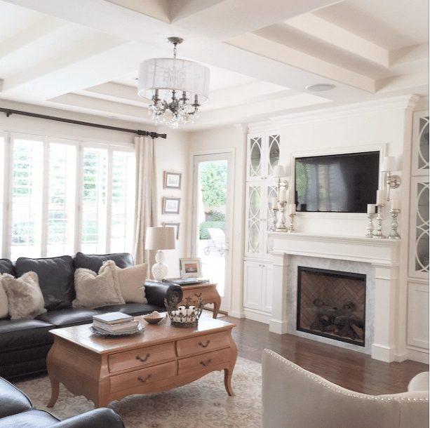 20 Beautifully Decorated Real Life Living Rooms - @randigarrettdesign