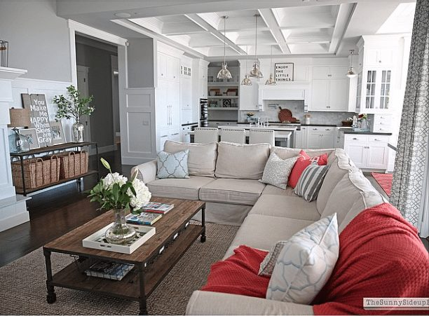 20 Beautifully Decorated Real Life Living Rooms - Sunny Side Up