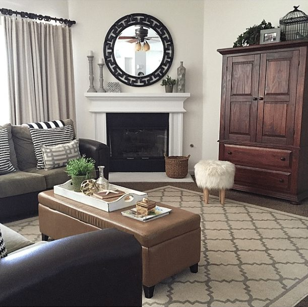 20 Beautifully Decorated Real Life Living Rooms - @Passion4HomeDecor