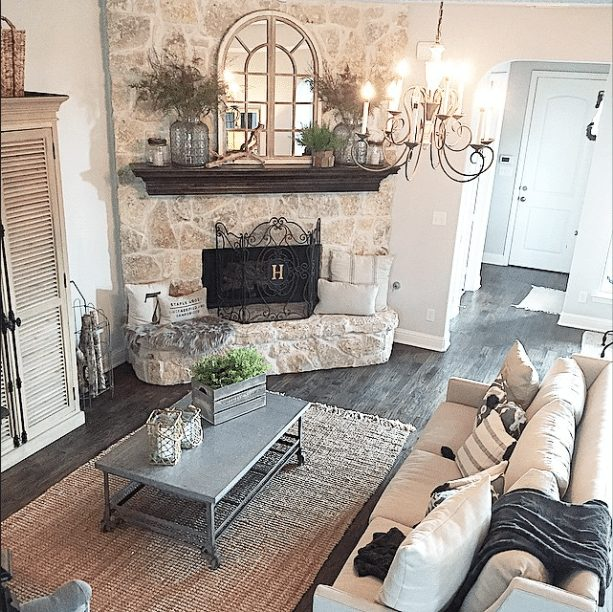 20 Beautifully Decorated Real Life Living Rooms - Whimsy Girl Design