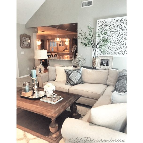 20 Beautifully Decorated Real Life Living Rooms - El Peterson Design