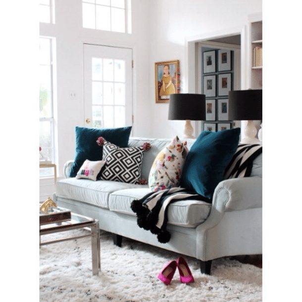 20 Beautifully Decorated Real Life Living Rooms | Hi Sugarplum