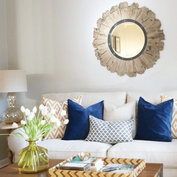 20 Beautifully Decorated Real Life Living Rooms - Don't Disturb This Groove