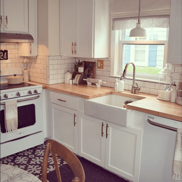 20 Gorgeous Real Life Kitchens   Nesting with Grace