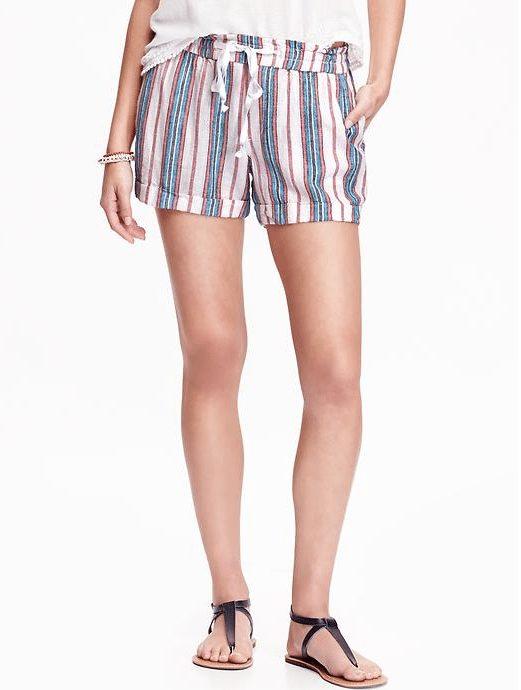 Weekend Steals & Deals   Striped Shorts