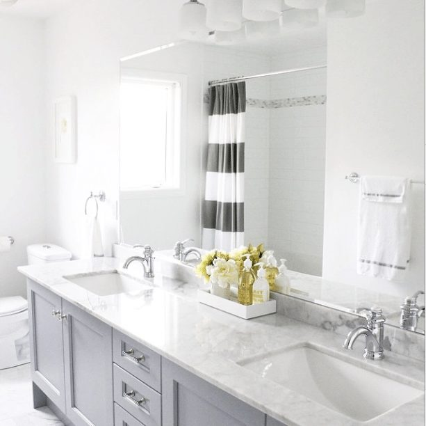 Gorgeous Real Life Bathrooms | AM Dolce Vita