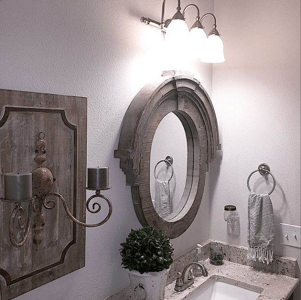 Gorgeous Real Life Bathrooms | Whimsy Girl Design