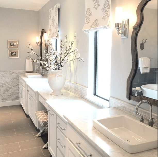 Gorgeous Real Life Bathrooms | Z Designs at Home