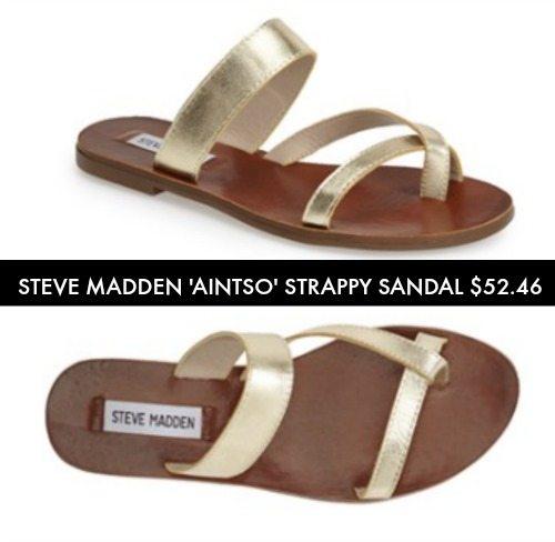 Summer Sandals - Steve Madden Ainsto Strappy Sandal