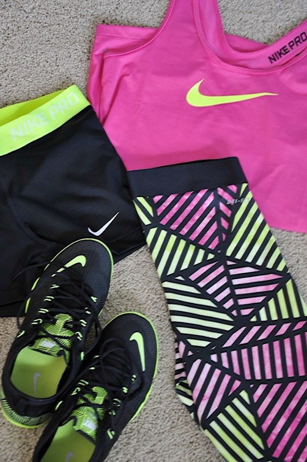 Fun Workout Wear - Bikini Contest Prep 8 Weeks Out