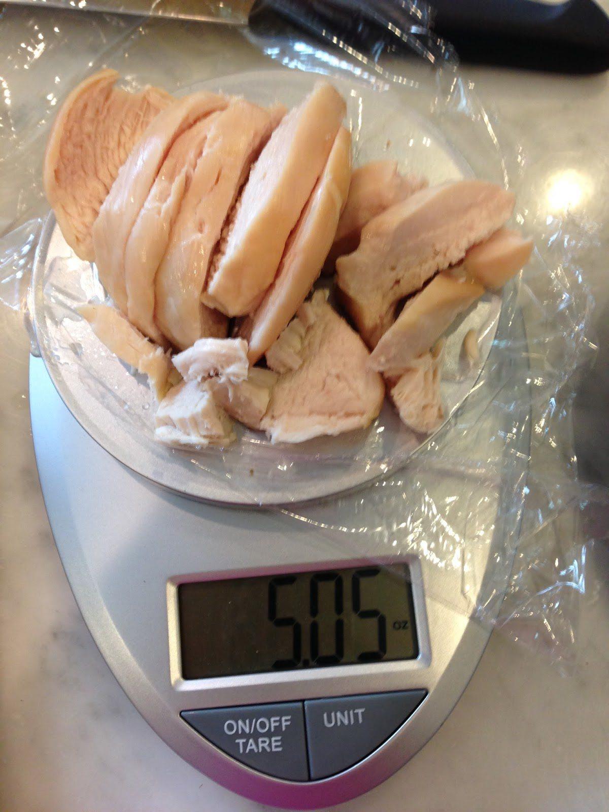 Bikini Contest Prep Meal Plan - Food Scale for Measuring Food