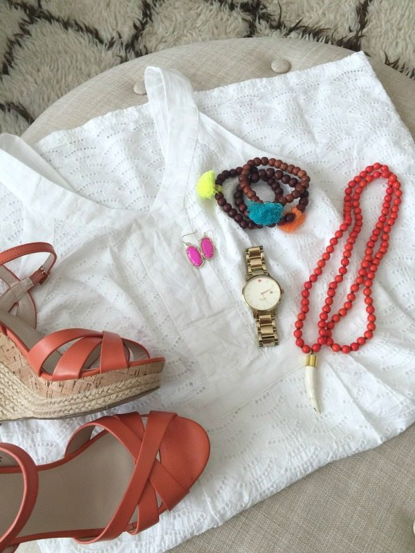 Weekend Steals & Deals   Summer Fashion Outfits   White Eyelet Dress