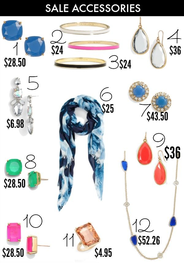 Spring - Summer style - Kate Spade accessories on sale