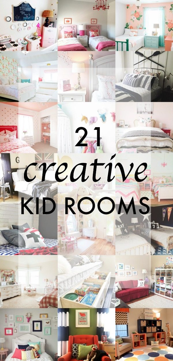 21 Creative Kid Rooms - boys and girls