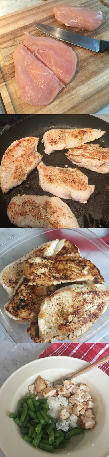 Bikini Contest Prep - Butterflied Grilled Chicken | Honey We're Home