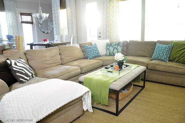 Lovely Pottery Barn Pearce Sectional With Wedge ...