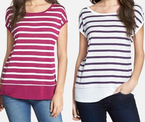 Summer Fashion - Halogen long sleeve chambray shirt